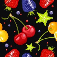 berry seamless pattern