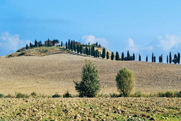 Countryside of Val d'orcia, Tuscany, Italy