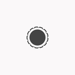 Label icon illustration isolated vector sign symbol