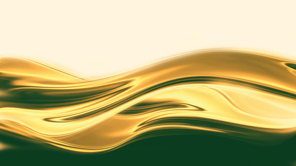 liquid gold Wall mural