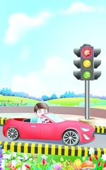 Traffic lights Nursery Rhymes