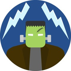 Frankenstein Badge / Emblem