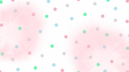 pink blue green tone color abstract vector background, look like watercolor drop style