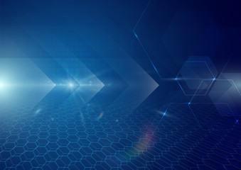 Abstract technology digital hi tech concept background