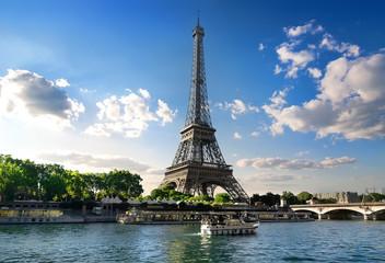 Parisian summer landscape