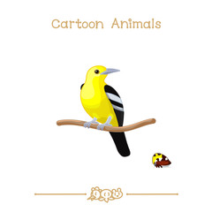 Toons series cartoon animals: iora & treehopper