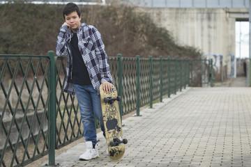 Gabriel - Skateboard 001