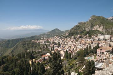 Mount Etna, Taormina, Sicily, Italy