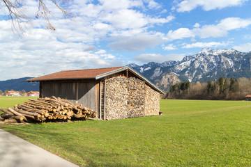 Bavarian Allgau Hut