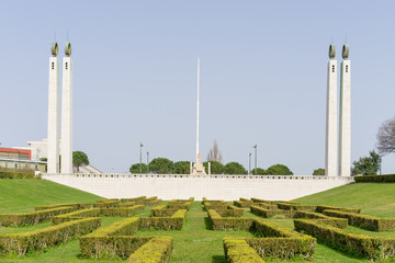 Park Eduard der 7. in Lissabon, Portugal
