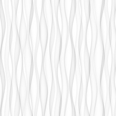 abstract pattern seamless. white texture. wave wavy modern geometric background