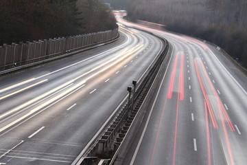 Autobahnverkehr