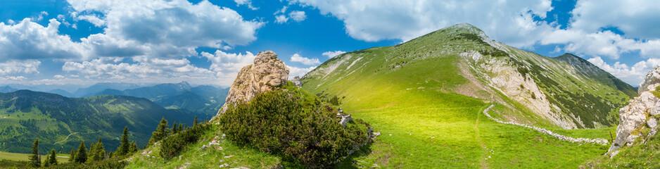 Panorama: Hinteres Sonnenwendjoch in Tirol, Österreich