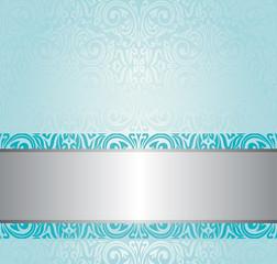 turquoise background design