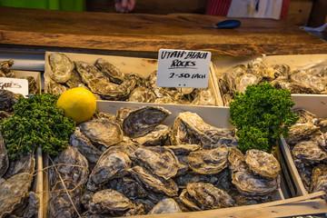 Oysters borough market london