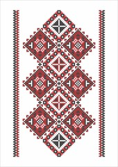 Traditional Romanian embroidery/sewingy patterns used on traditional / folk costumes, rugs, carpets and towels.