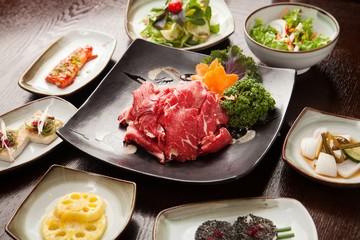 gwangyang bulgogi. This beef is Korean traditional cuisine.
