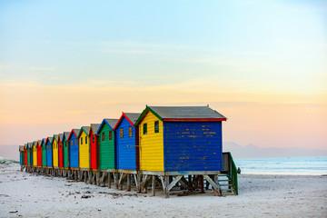 Staande foto Zuid Afrika Muizenberg beach