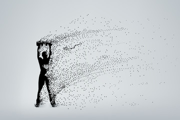 silhouette particles 01