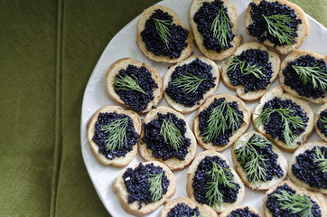 Healthy food made for a party