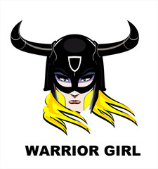 warrior, princess, Blonde Warrior Girl