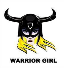 warrior, princess, Blonde Warrior Girl