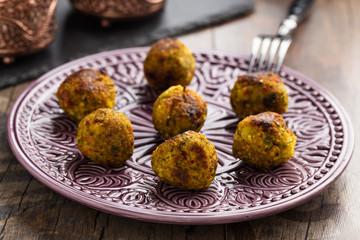 Couscousbällchen - Couscous balls