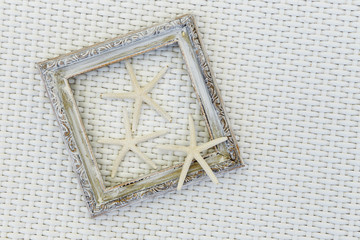 Starfish with photo frame