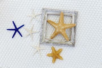 Starfish with photo frame