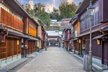 Higashichaya District of Kanazawa, Japan