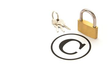 著作権の保護イメージ