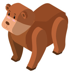 3D design for grizzly bear