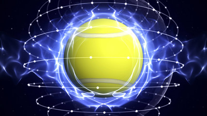 TENNIS BALL Computer Graphics Background