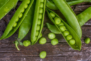 tasty green peas