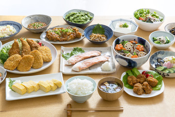 Photo Stands Ready meals 家庭料理