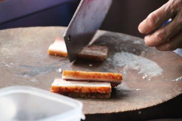 silde crispy pork
