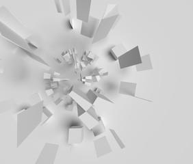 爆発のイメージのオブジェ