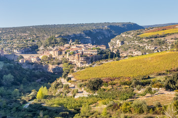 Minerve, un des plus beaux villages de France, Hérault, Occitanie