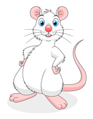 Cheerful rat