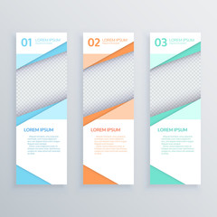 Design clean banners