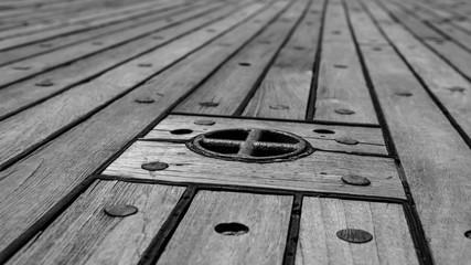 old ships teak deck
