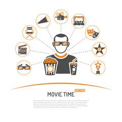 Cinema and Movie concept