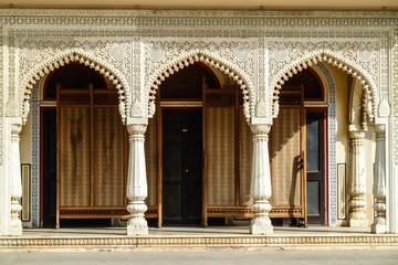 Artful arcade, Jaipur, Rajasthan, India