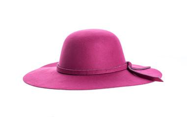 Cappello elegante viola