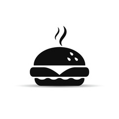 Fast food icon, vector.