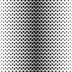 Vector seamless pattern. Modern stylish texture. Monochrome geometrical pattern of triangles.