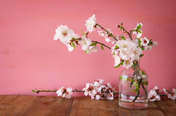 spring bouquet of cherry tree branches