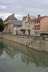 Photo sur Plexiglas Canal Canal in Chalons-en-Champagne, France