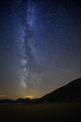 Via Lattea (Milky Way) a Castelluccio di Norcia