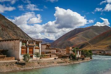 Tibetan village in China